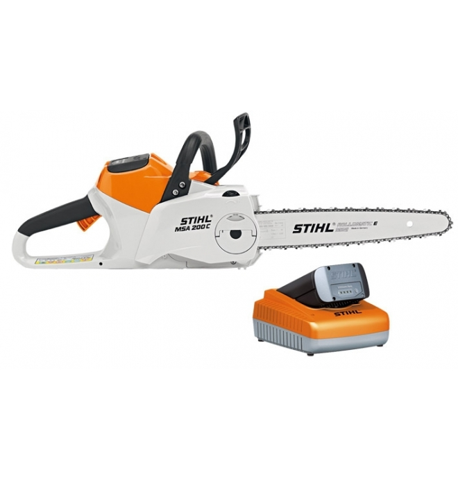 tron onneuse msa 200 c bq pack stihl batteries king vert. Black Bedroom Furniture Sets. Home Design Ideas