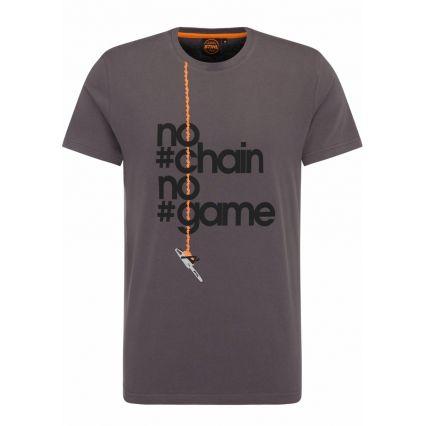 "STIHL T-Shirt ""No Chain"", homme"