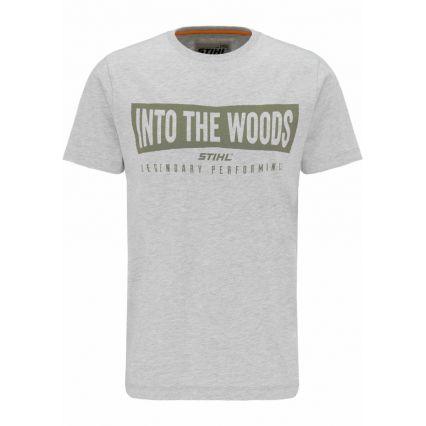 "STIHL T-Shirt ""WOOD"", homme"