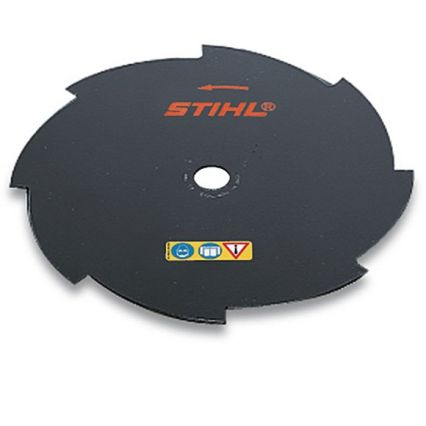 STIHL Couteau herbe 8 dents, 255mm