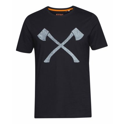 "STIHL T-Shirt ""AXE WOOD"", homme"