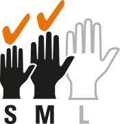 Taille de la main (S-M)