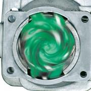 Cylindre à quatre canaux de transfert