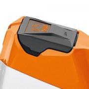 Batterie placée en 2 étapes